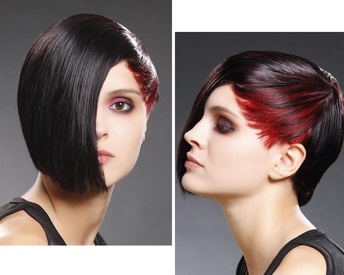 asymmetrical-dark-brown-bob-cut